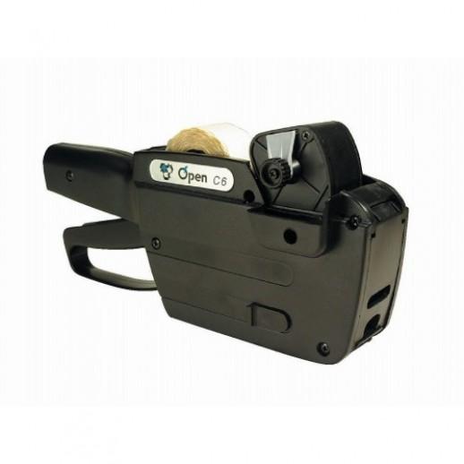 Этикет-пистолет однострочный Open C6
