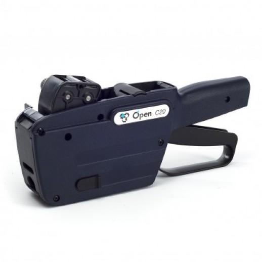 Этикет-пистолет двухстрочный Open C20