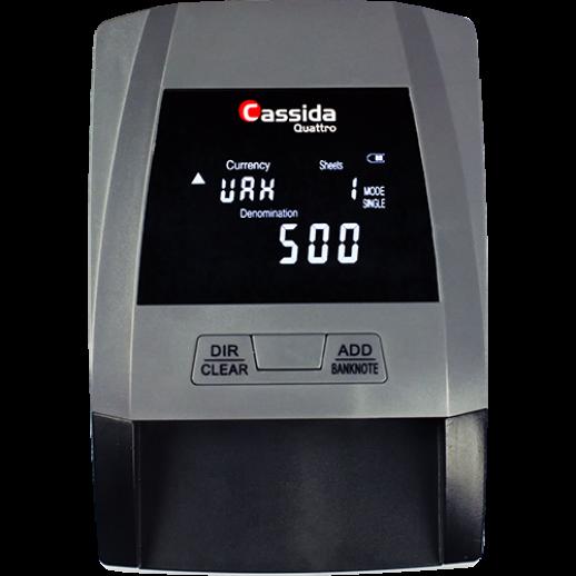 Детектор валют автоматический Cassida QUATTRO V