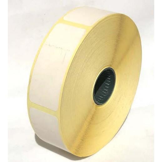 Этикетка самоклеящаяся 25х60 мм термо ЕКО 1000шт
