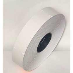 Бирка картонная в рулоне для термотрансферной печати 26х43 мм (1000шт)