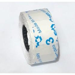Этикет-лента 26х12 мм фигурная белая (1000 шт), Италия