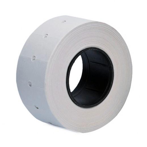 Этикет лента 21,5х12 мм,белая 1000 шт