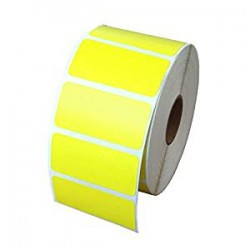 Этикетка самоклеящаяся 40х25 мм термо ЕКО желтая 2000шт