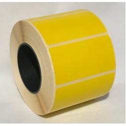 Термоэтикетка 58x30 мм Термо ЕКО желтая 1000шт
