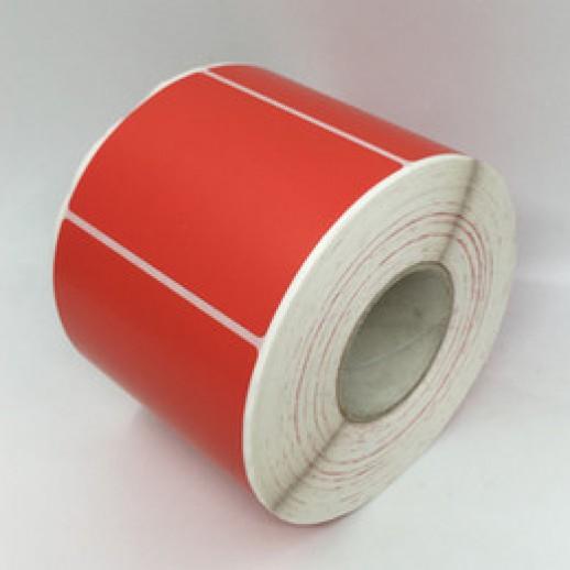 Этикетка самоклеящаяся 58х60 мм Термо ЭКО красная  1000шт