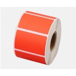 Этикетка самоклеящаяся 40х25 мм термо ЕКО красная  1000шт