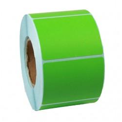 Этикетка самоклеящаяся  58х40 мм Термо ЭКО зеленая 1000шт