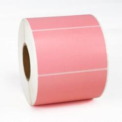 Этикетка самоклеящаяся 58х40 мм Термо ЭКО розовая 1000шт