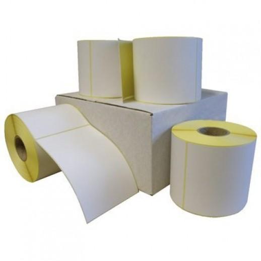 Этикетка самоклеящаяся 100х40 мм полуглянцевая бумажная  1000шт