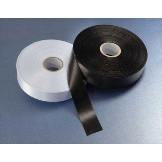 Лента сатин белый премиум 25ммх200м для термотрансферной печати