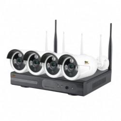 Комплект для видеонаблюдения на улице Kit набор 1MP 4xIP