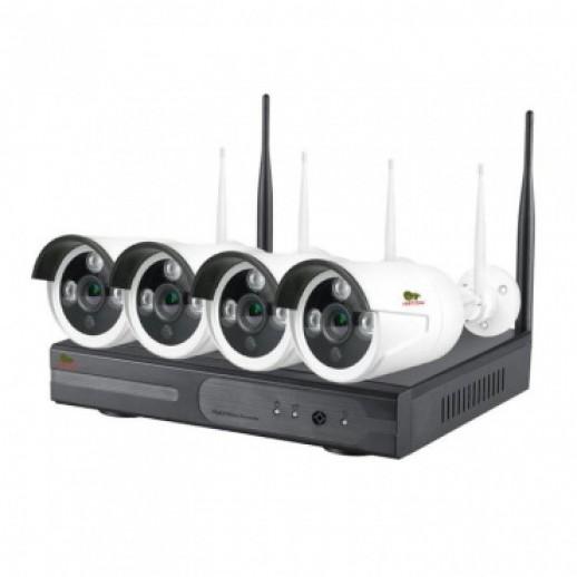 Комплект для видеонаблюдения на улице Kit набор 4MP 4xIP