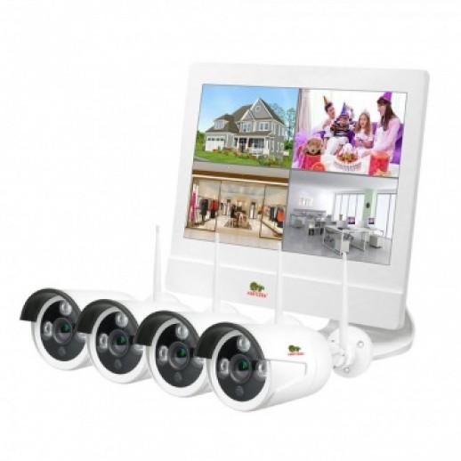 Комплект для видеонаблюдения на улице Kit LCD 2MP 4xIP