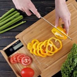 Весы кухонные с разделочной доской S BUTTON (GL-ZB03MT)