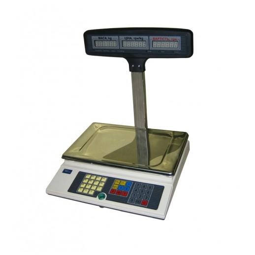 Весы электронные торговые ВТА-60/30-5-Т-А (ЖКИ)