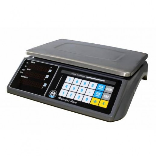 """Весы торговые электронные """"Вагар"""" VP-N LCD/LED 6/15кг (RS-232)"""