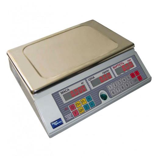 Весы электронные торговые ВТА-60/30-6-А-С